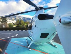 Helicopter i Marbella